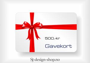 Bilde av Gavekort 500,-kr