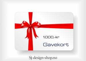 Bilde av Gavekort 1.000,-kr