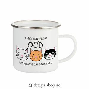 Bilde av OCD - Obsessive Cat Disorder