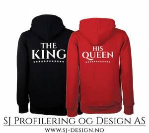Bilde av King and Queen Hoodie - Sett