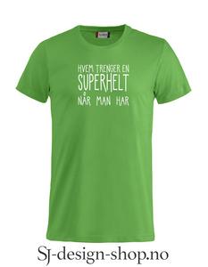 Bilde av Hvem trenger en superhelt...