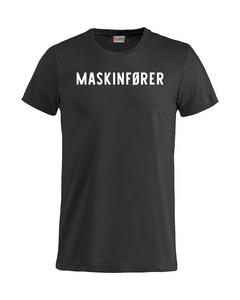 Bilde av Maskinfører t-shirt