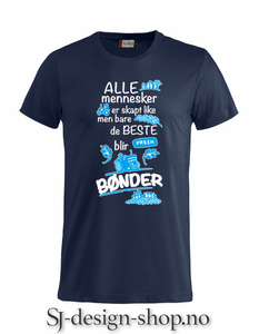 Bilde av Beste blir bønder 2018 - Blå