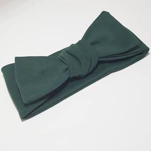 Bilde av Unik Design Knytebånd, rett støvet mørk grønn.