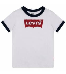Bilde av Levis Batwing Ringer T-Skjorte, Hvit.