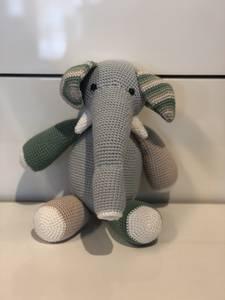 Bilde av Elefant, Blå/grønn.