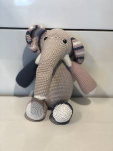 Bilde av Elefant, Rosa.