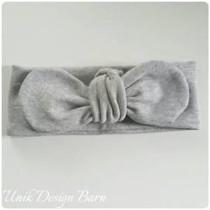 Bilde av Unik Design Knytebånd, rund grå melert.