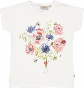 Bilde av Wheat T-Skjorte Watercolor Flowers.