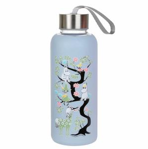 Bilde av Mummi Glassflaske, Blå.