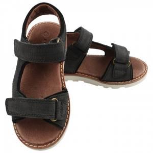 Bilde av En fant Hercules skinn sandal, svart.