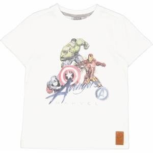 Bilde av Wheat Disney Marvel T-Skjorte, Hvit.