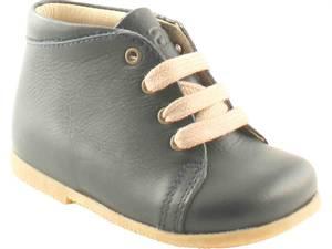 Bilde av Starter sko, navy m/lyse snører.
