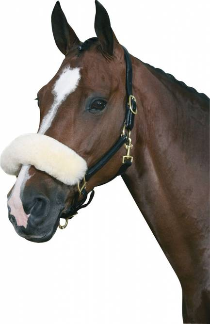 Bilde av HG Lammeskinn nesebeskytter MediLamb