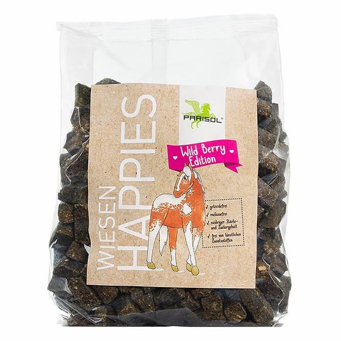 Bilde av Parisol Happies hestesnack villbær/urter 1kg