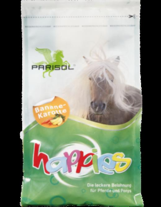 Bilde av Parisol Happies hestesnack banan/gulrot 1kg