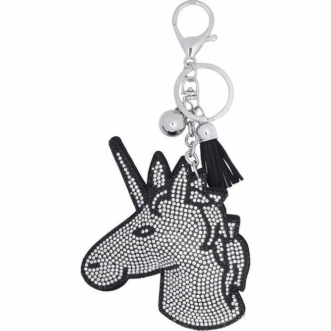 Bilde av Equipage Unicorn nøkkelring svart