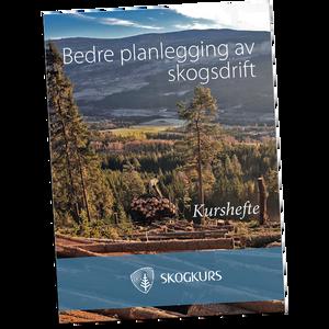 Bilde av Bedre planlegging av skogsdrift - Kurshefte