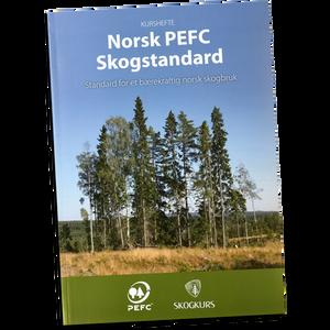 Bilde av Norsk PEFC Skogstandard - Kurshefte