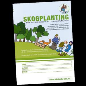 Bilde av Skogplanting - elevhefte