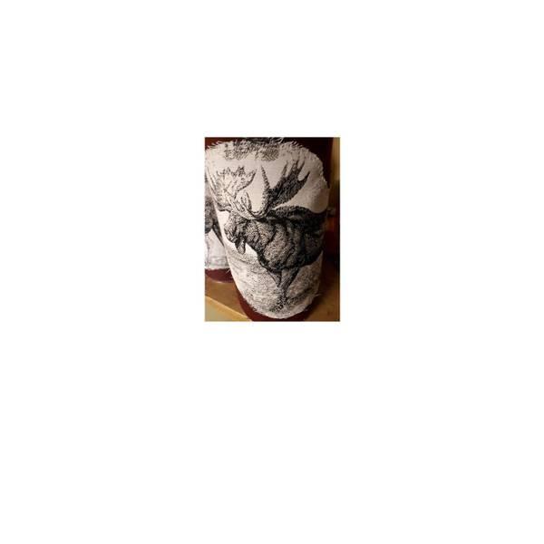 Bilde av Tennbriketter med stoffmotiv