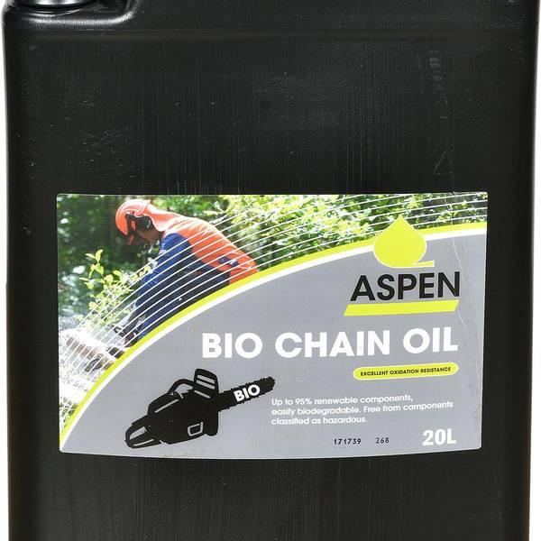Bilde av Aspen Bio Chain oil 20 Liter Sag kjede olje