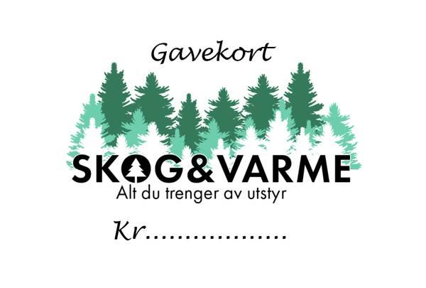Bilde av Gavekort skogogvarme.no