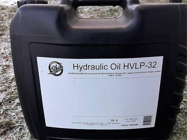 Bilde av  HV 32 HYDRAULIKKOLJE ISO 32 ink olje avgift  20