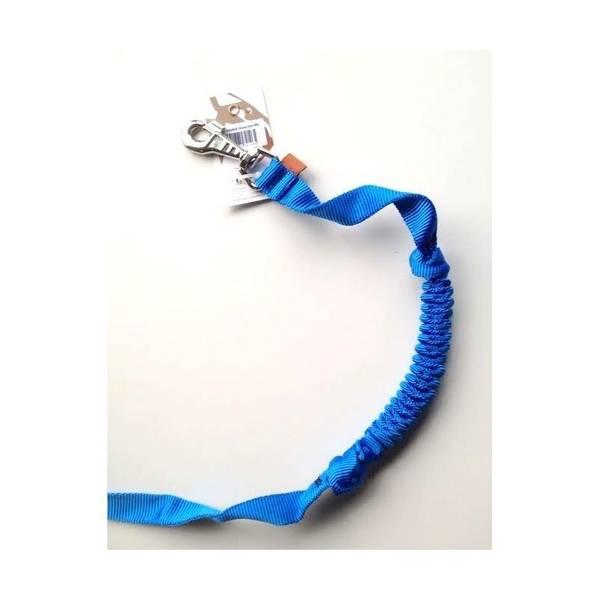 Bilde av Leiebånd med strikk 200x2,5cm blå