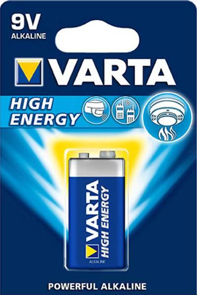 Bilde av Batteri 6LR61 High Energy 9V