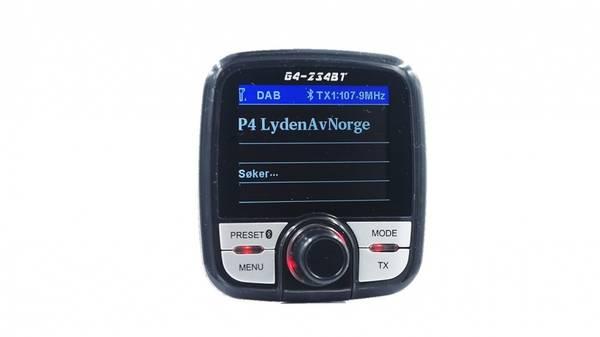 Bilde av Gussi G4-234BTD DAB +- mottaker med Bluetooth