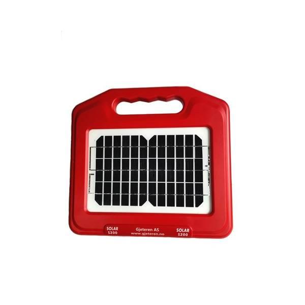 Bilde av Gjerdeapparatet med solcelle og batteri 0,6J