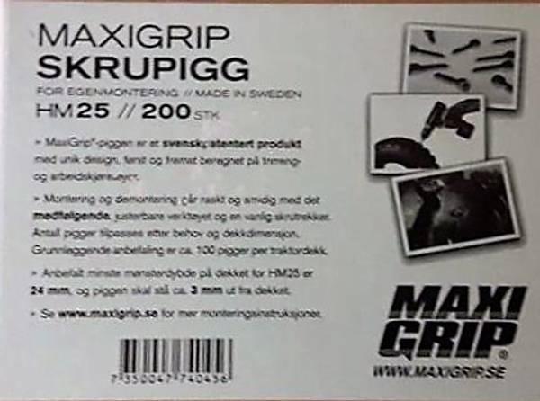 Bilde av Maxi grep 25 mm karbid 200 stk.