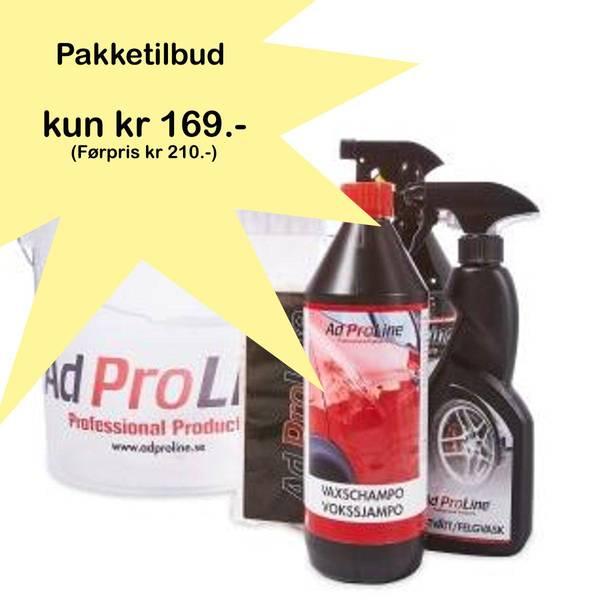 Bilde av AdProLine vaskebøtte-pakke