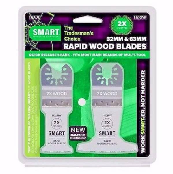 Bilde av SMART 2 bladers sett Rapid Wood 32 og 63 mm - tre