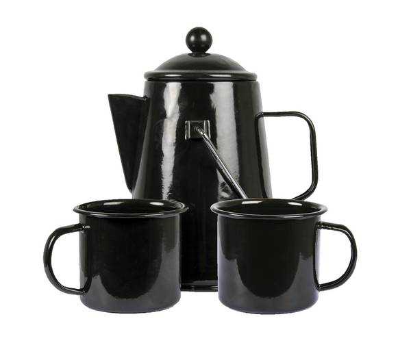 Bilde av Emaljert kaffesett
