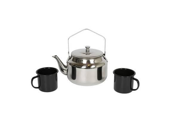 Bilde av Espegard Bålkaffepakke Kaffekjele 2.5 L. To