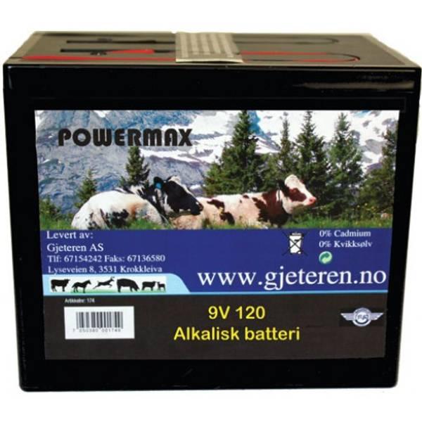 Bilde av 9V 170 AMP Batteri Alkalisk