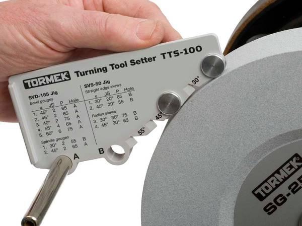 Bilde av Tormek TTS-100 Innstillingslære for dreiejern