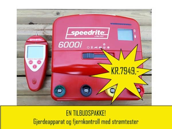 Bilde av En tilbudspakke Speedrite gjerdeapparat inkludert