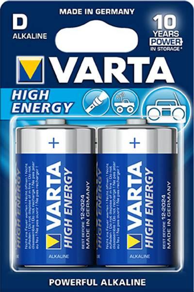 Bilde av Batteri D/LR20 High Energy