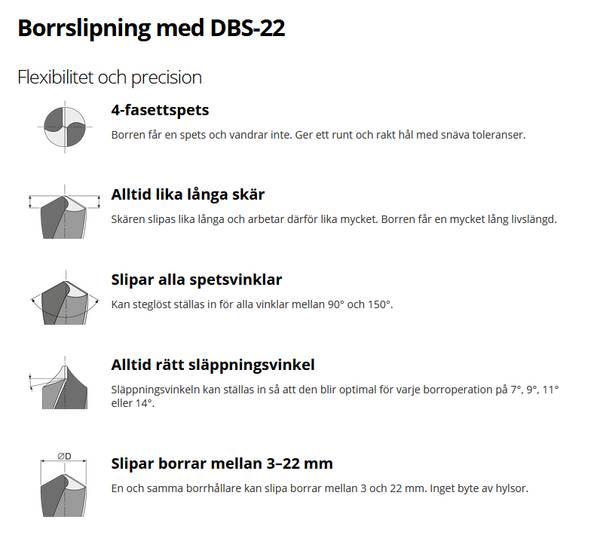 Bilde av Tormek DBS-22 Slipejigg for Bor