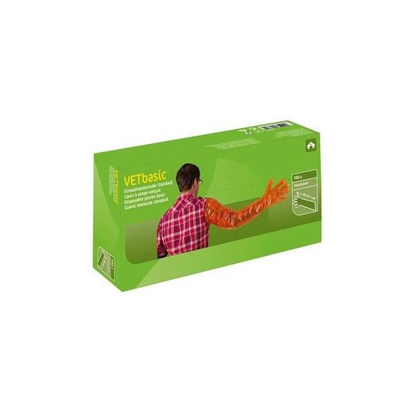 Bilde av Hanske 90cm Orange / Undersøkelses hanske