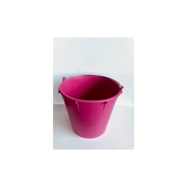 Bilde av 7 Liter kalvebøtte Rosa