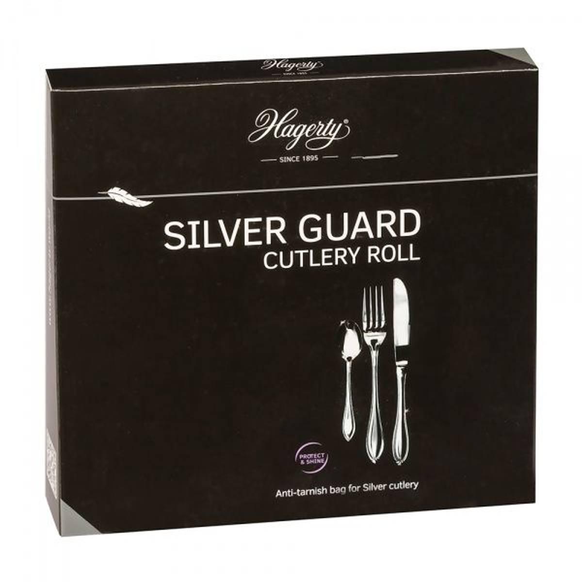 Hagerty bestikkpose for sølvbestikk