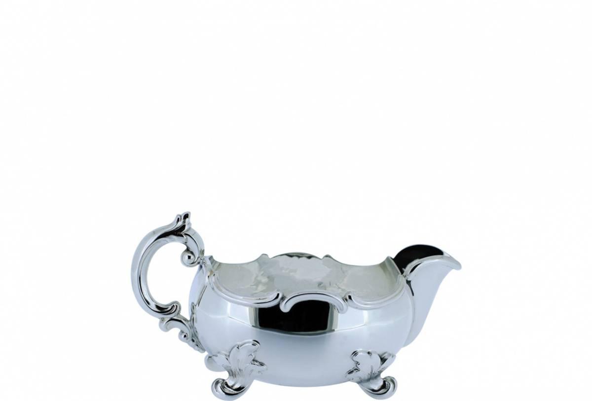 Rococco sølv fløtemugge