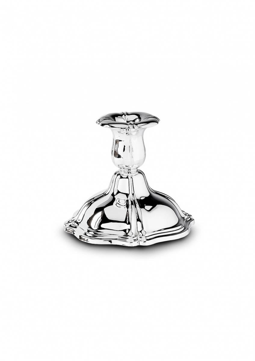 Lysestake i sølv