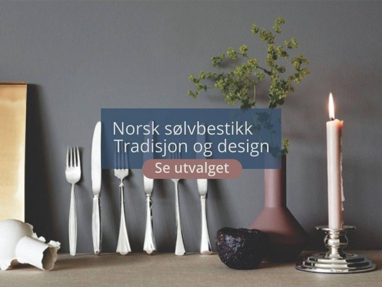 Kjøp norsk sølvtøy og sølvbestikk fra Sølvmesteren