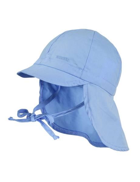 Bilde av Maximo - Solhatt med nakkebeskyttelse og UV 15 Lyseblå