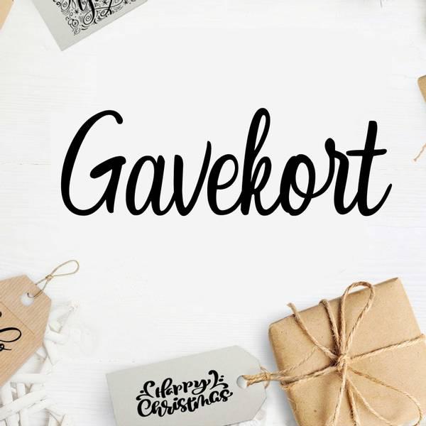 Bilde av Gavekort1